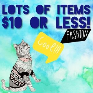 $10 OR LESS - LOTS OF ITEMS!!